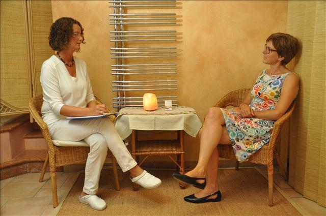 Osteopathie Vorgespräch